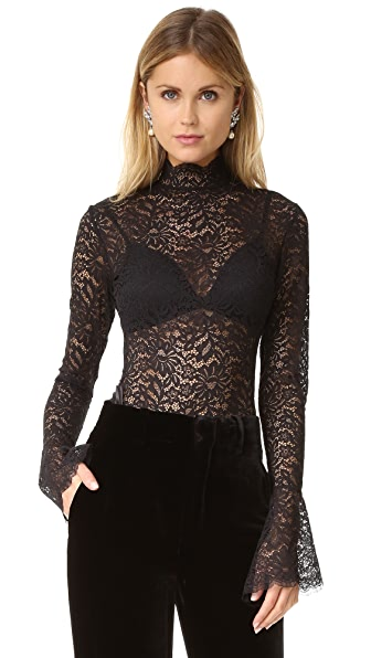 Alix Haven Thong Bodysuit - Black at Shopbop