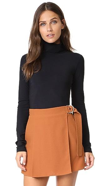 Alix Warren Bodysuit In Black