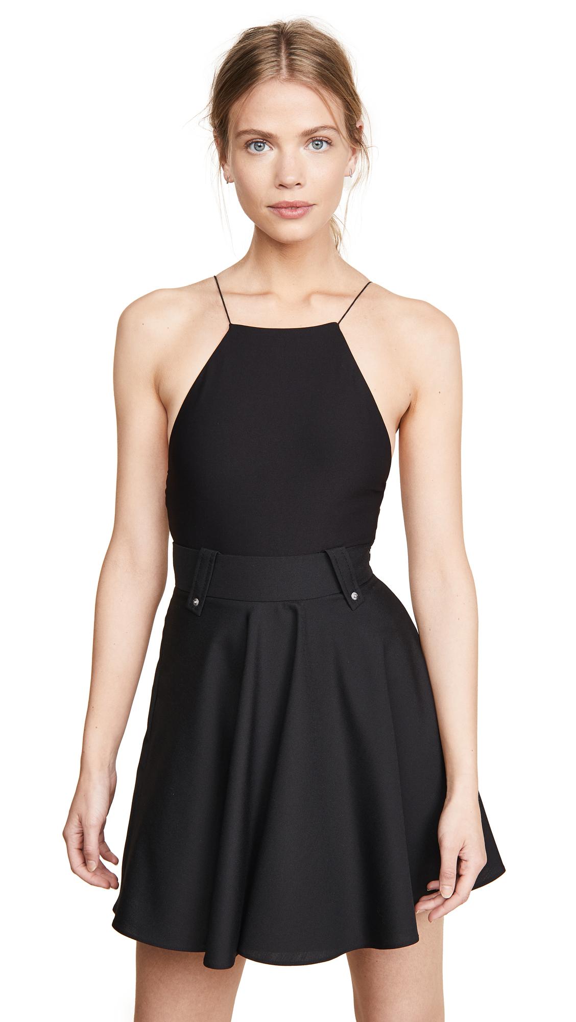 Alix Dyer Bodysuit In Black