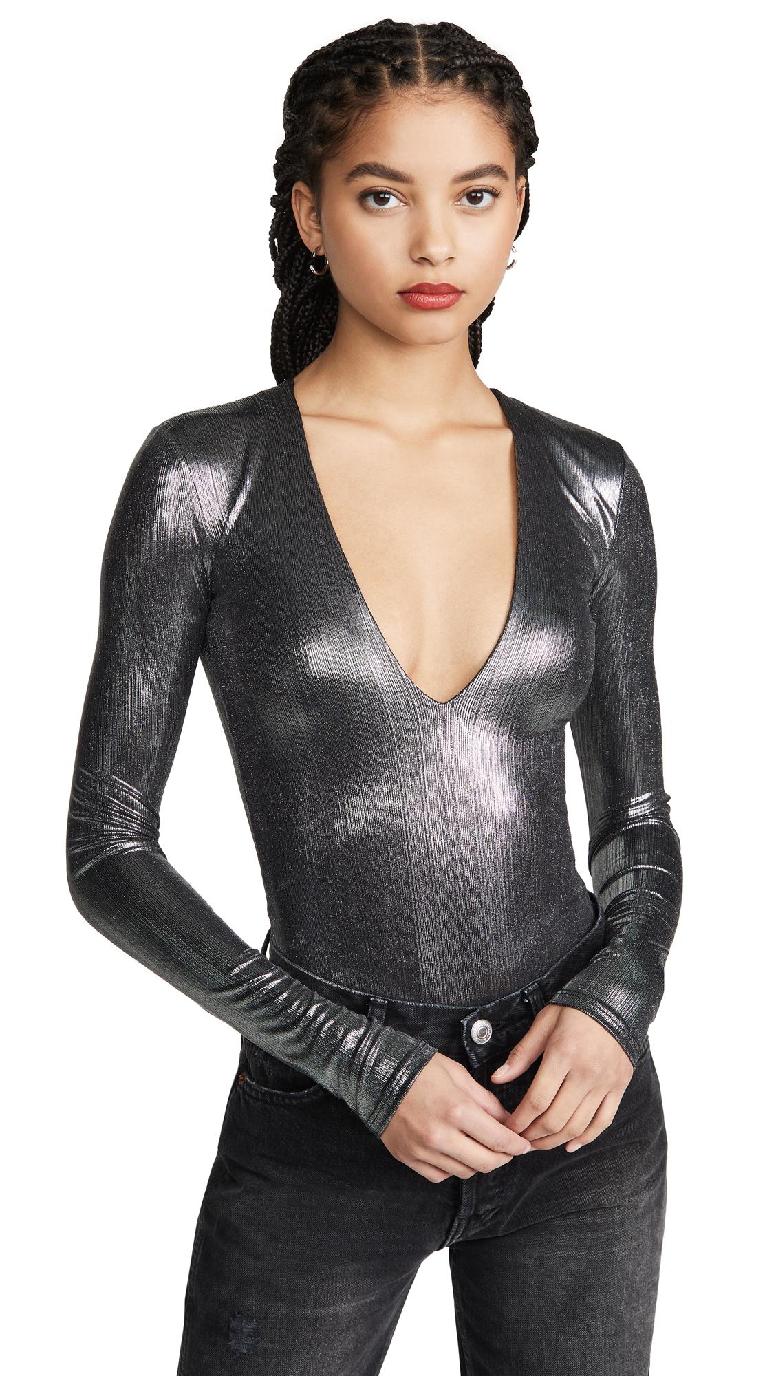 Buy Alix online - photo of Alix Irving Lame Bodysuit
