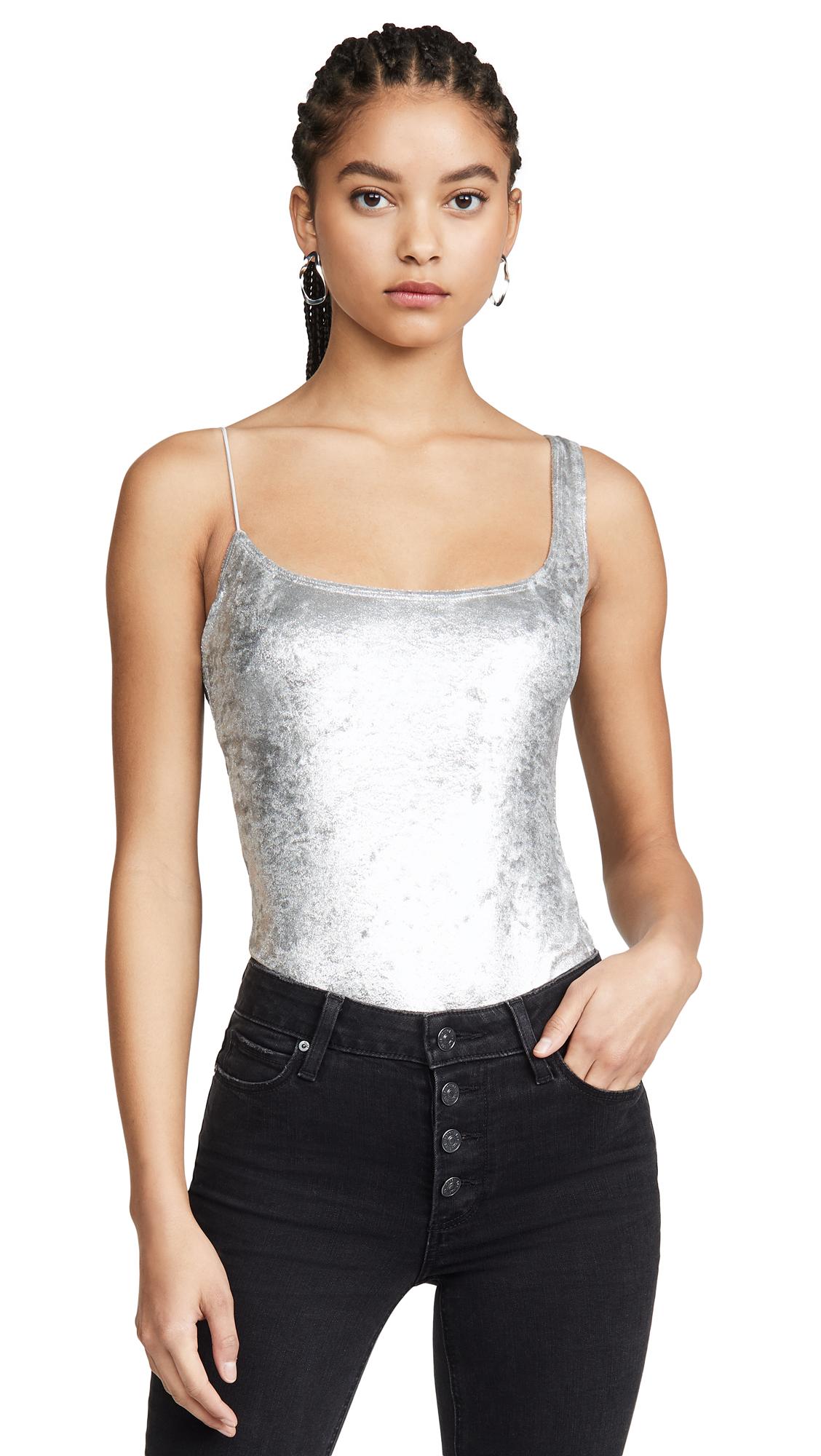 Buy Alix online - photo of Alix Gracie Ultra Suede Bodysuit