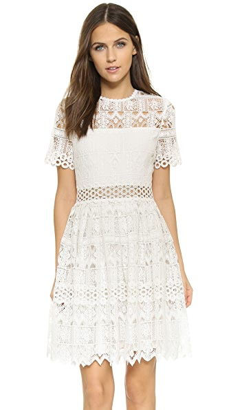 Alexis Lula Dress - White