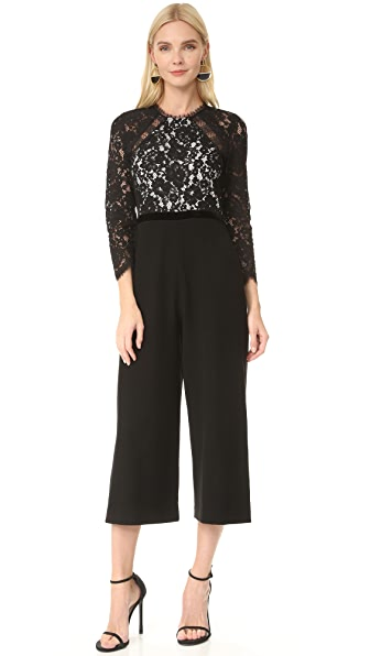 Alexis Ophelia Jumpsuit - Black/White