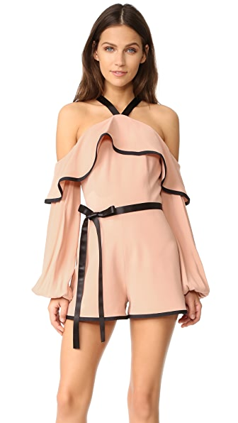 Alexis Hanson Romper - Dusty Rose
