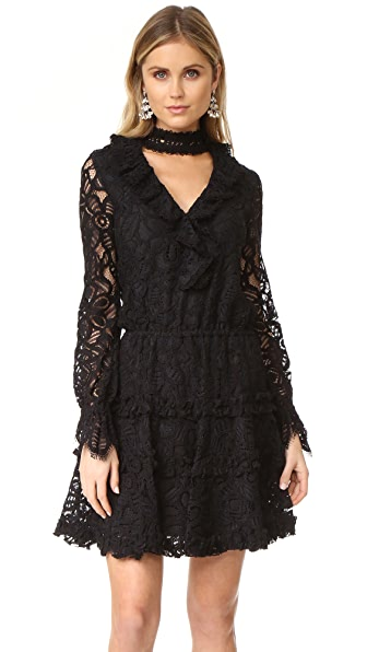 Alexis Catalina Dress - Black