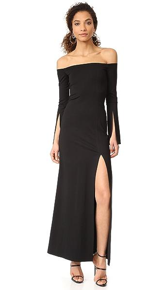 Alexis Katana Dress - Black