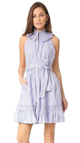 Alexis Briley Dress - Blue Stripes