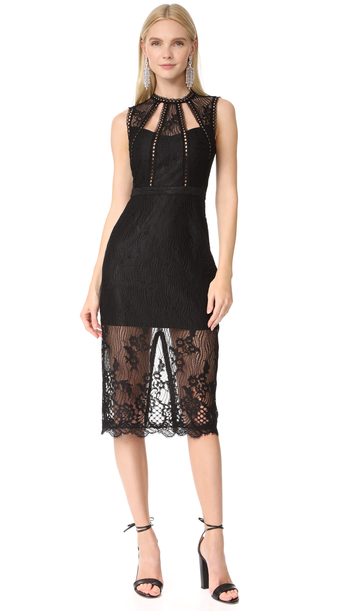 Alexis Oralie Dress - Black