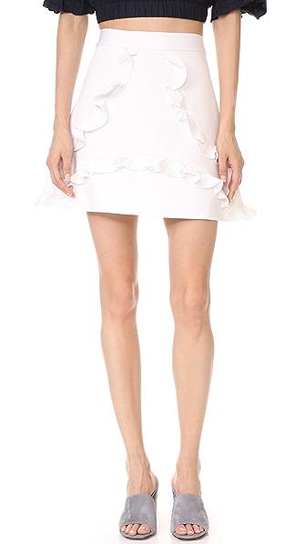 Alexis Tiziana Skirt - White