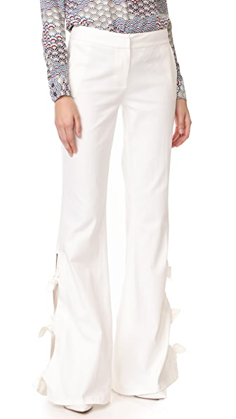 Alexis Alexander Pants In White Denim