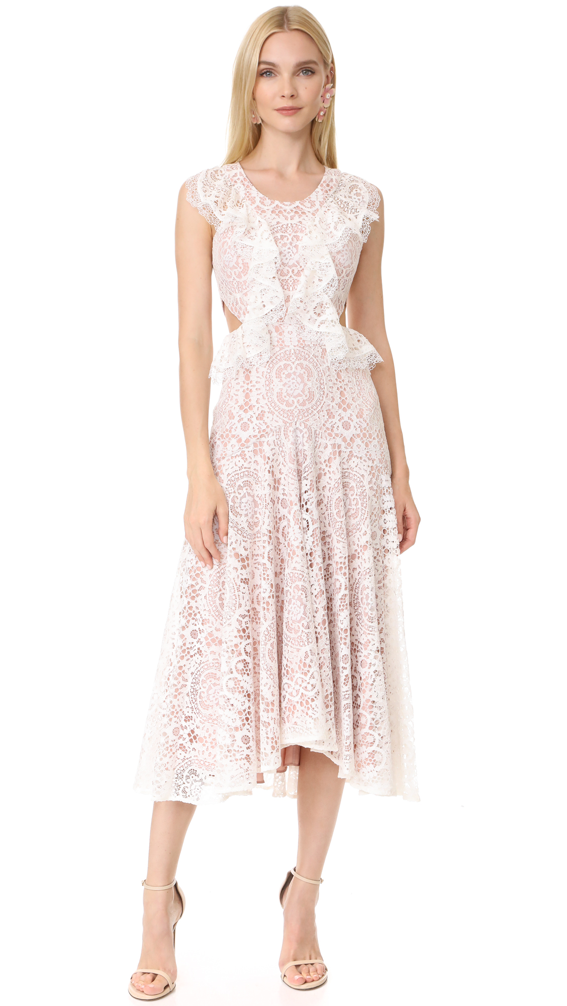 Alexis Aldridge Dress - Ivory Lace