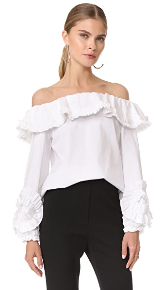 Alexis Regine Top In White