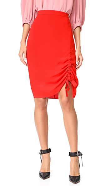 Alexis Ivy Skirt In Red