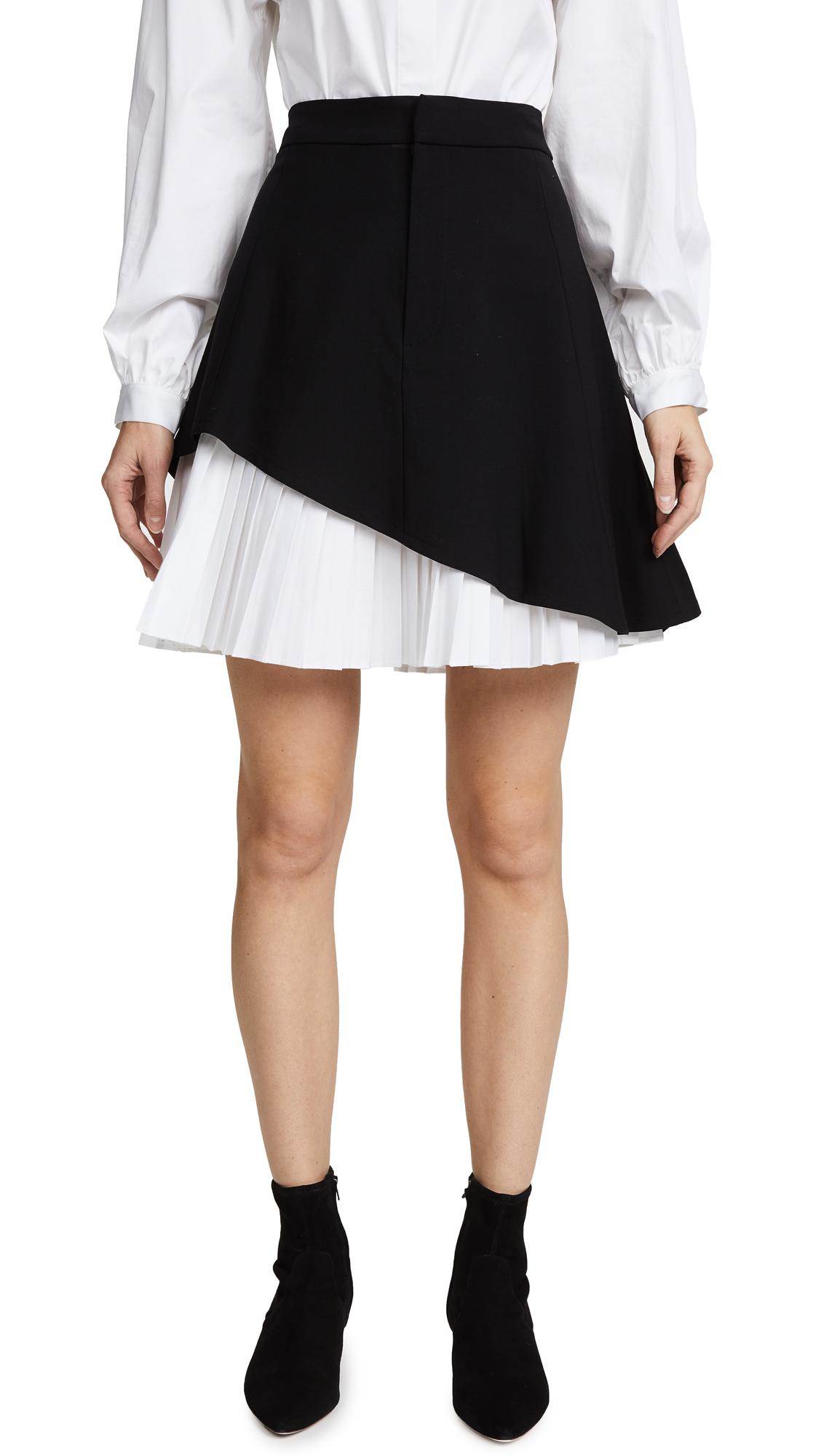 Alexis Dani Miniskirt - Black/White