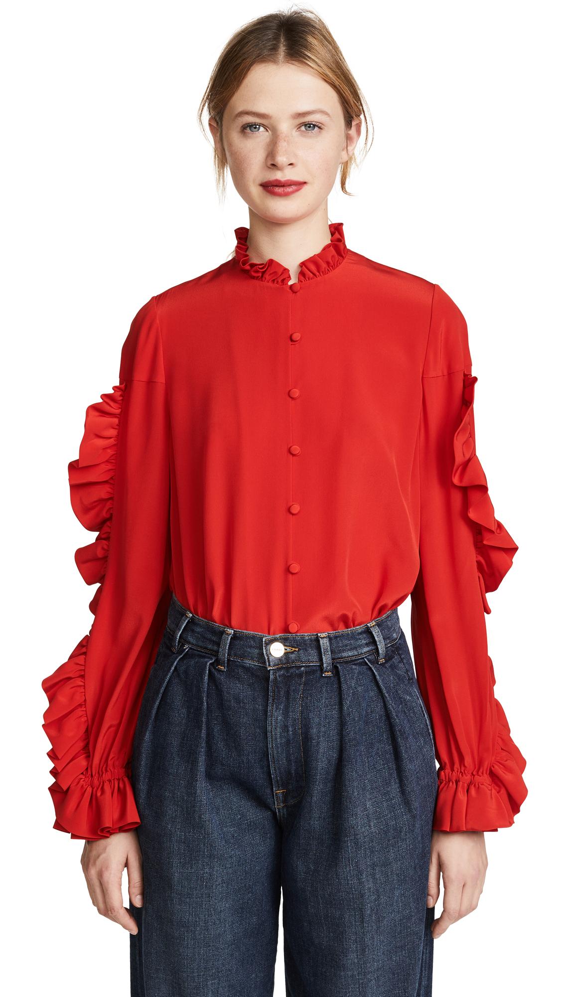 Alexis Rocio Top - Red