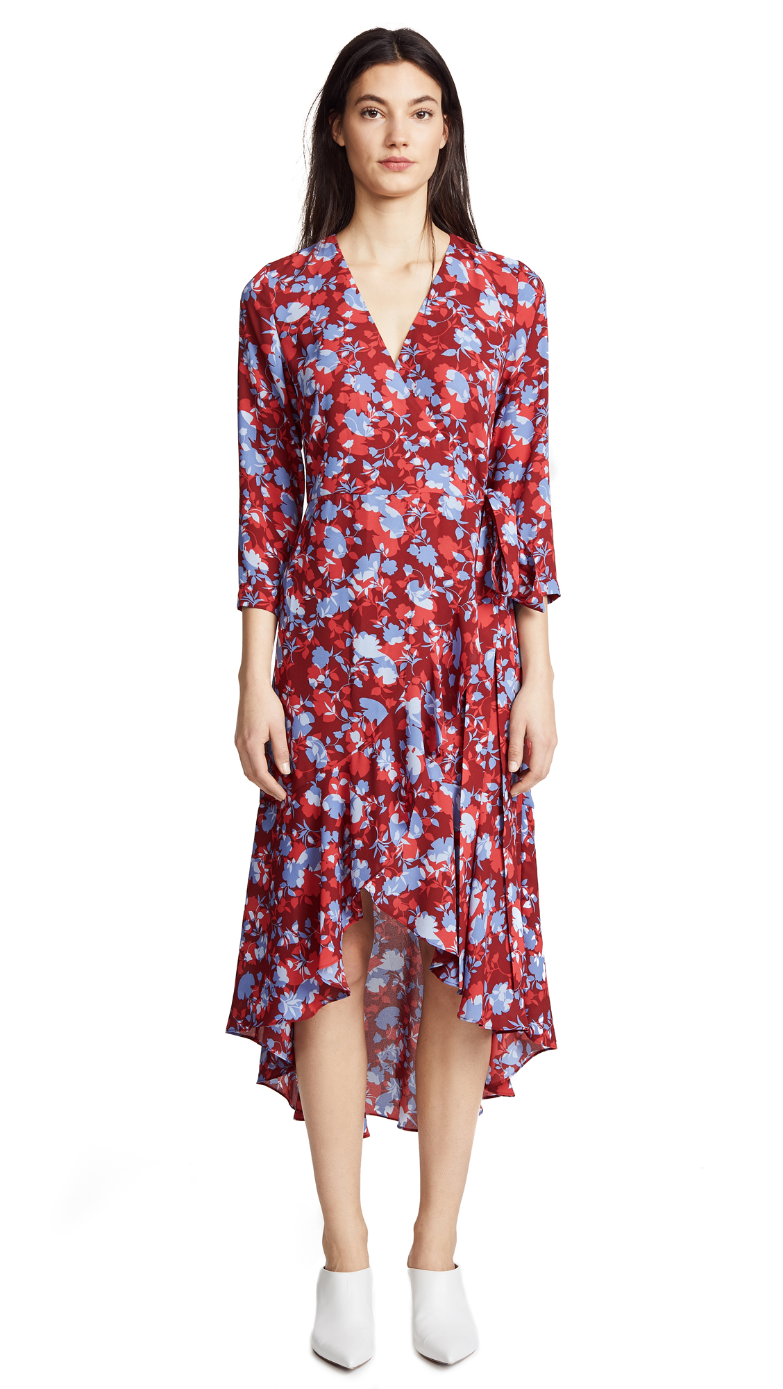 Lorna Dress, Rouge Floral