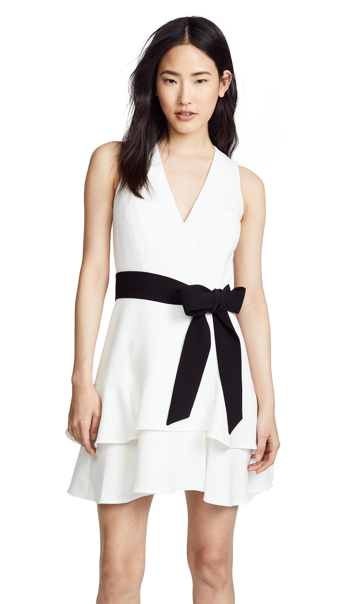 Alexis Olena Dress In Off White