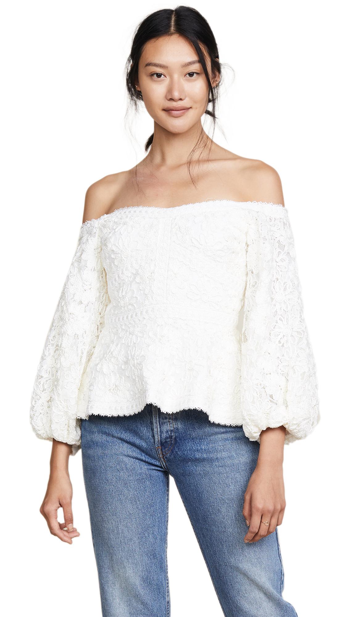 Alexis Joscelin Top - Ivory Lace