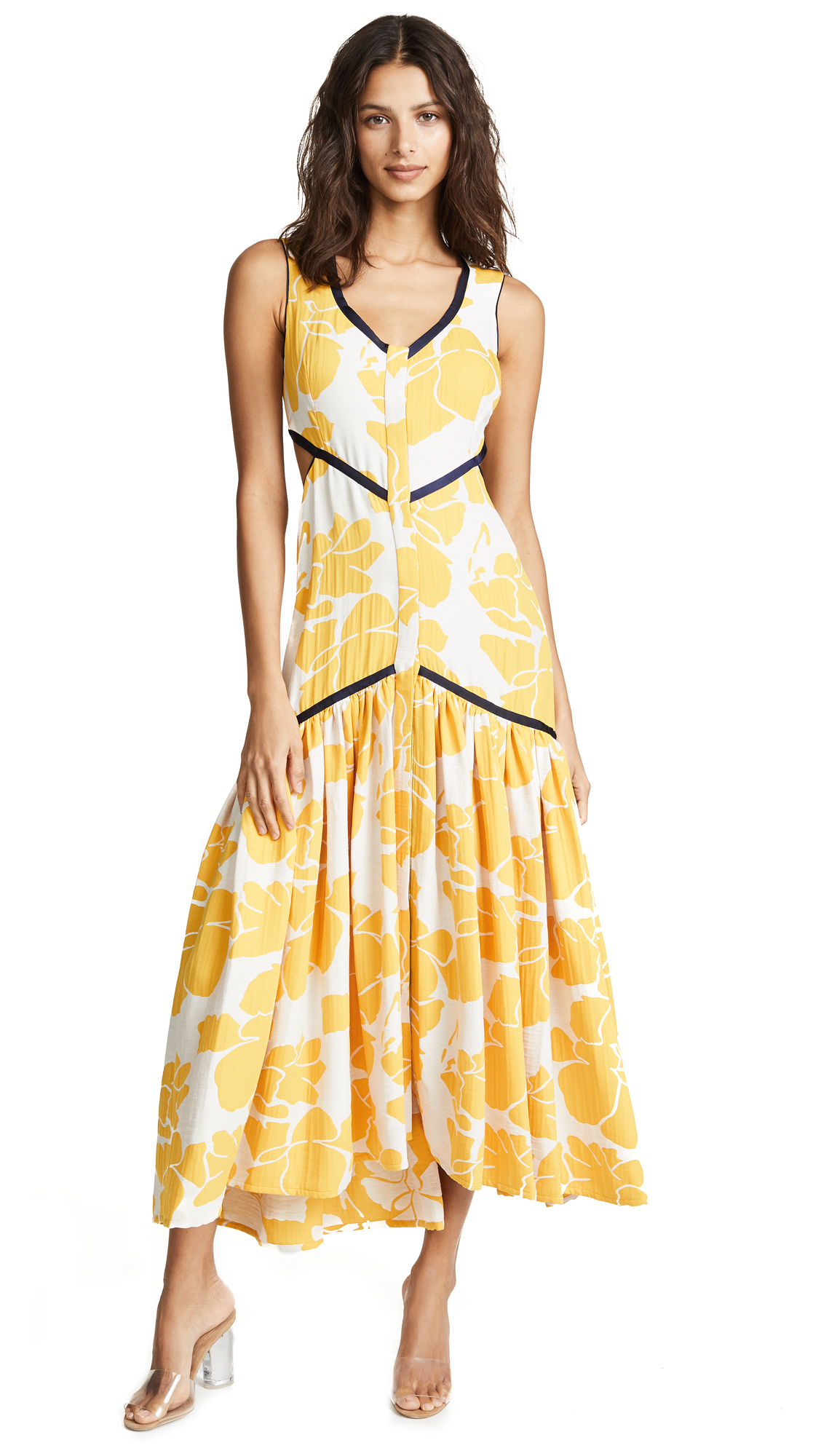 Alexis Royal Dress - Marigold