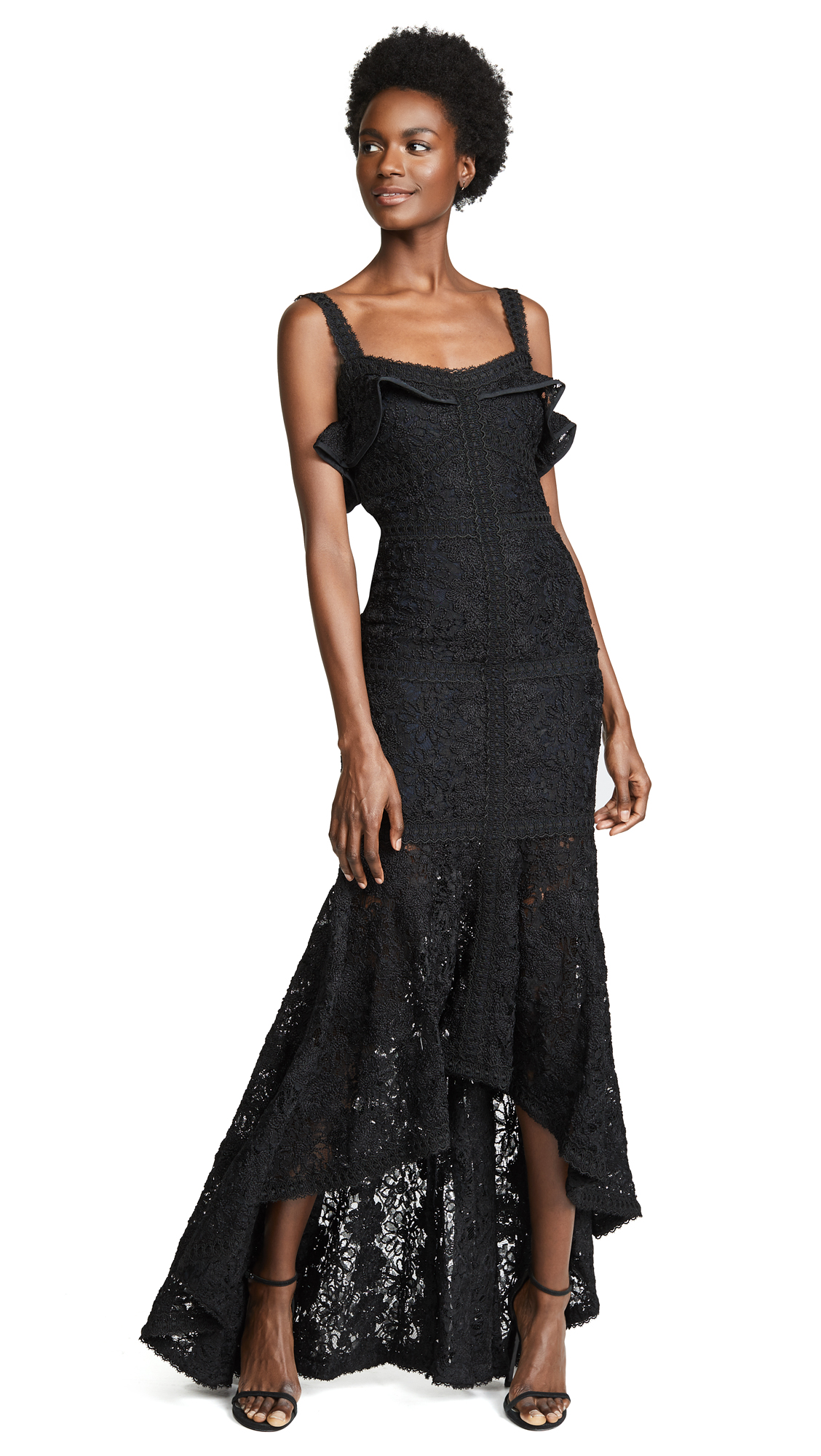 Alexis Vincenzo Gown - Black Lace