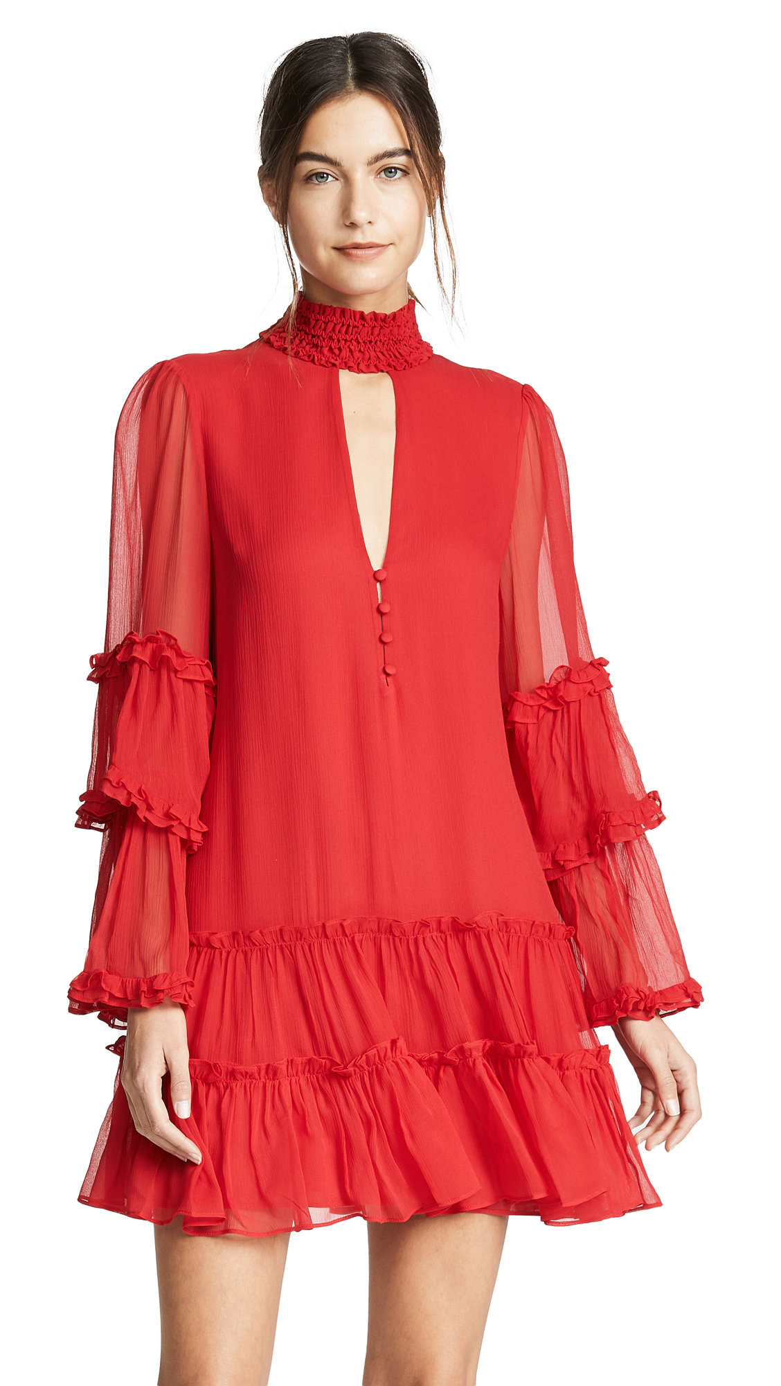 Alexis Naoko Dress - Red