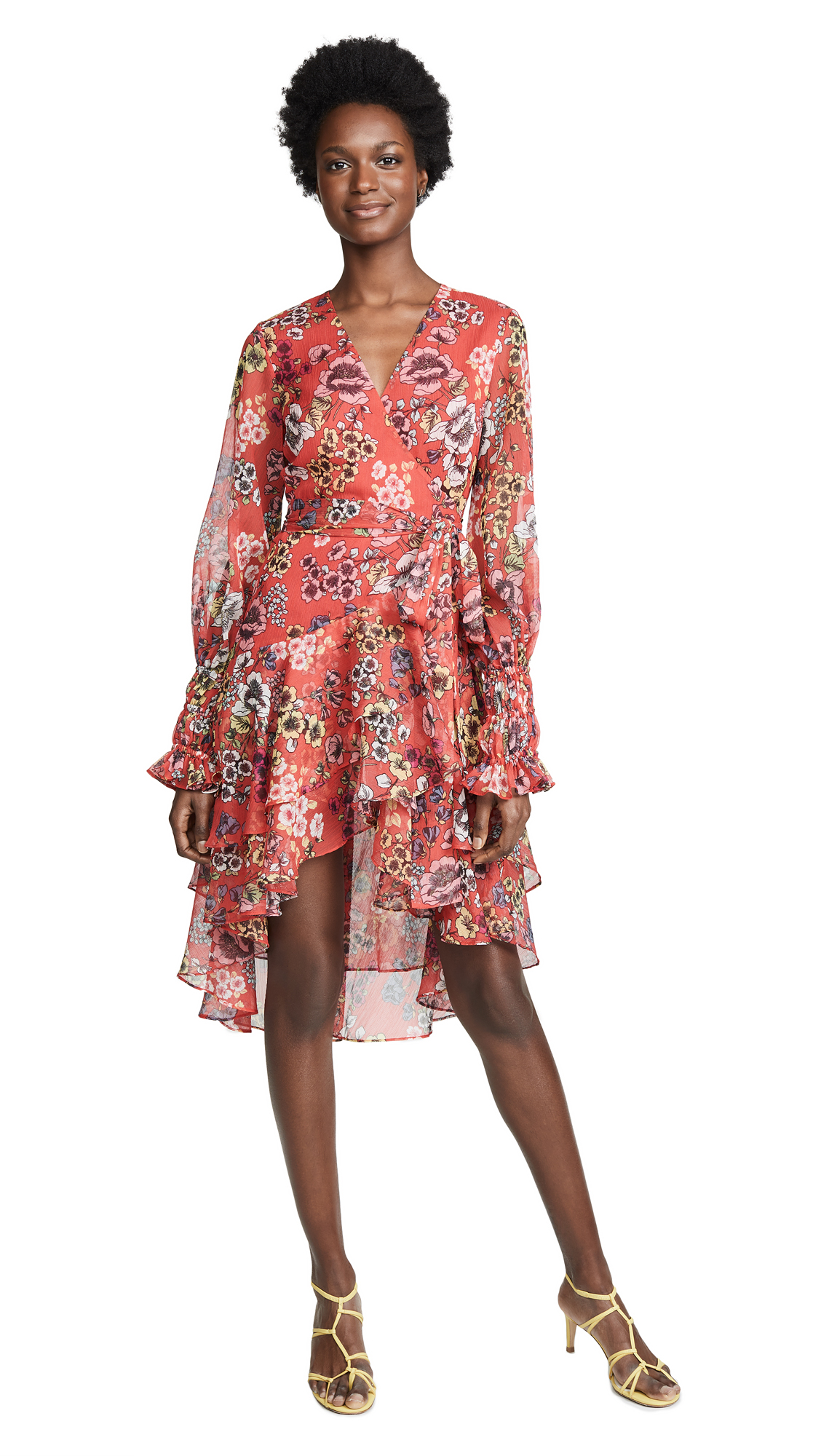 Alexis Sidony Dress - Eden Floral Red