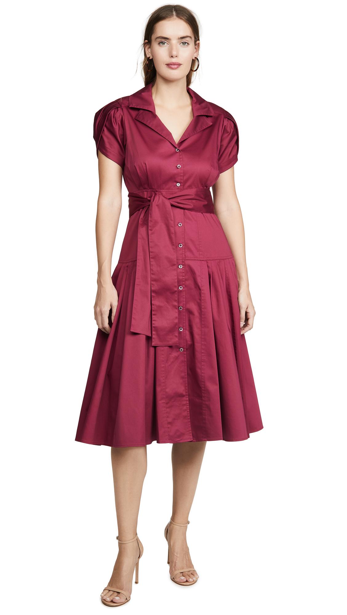 Alexis Rosetta Dress - Raspberry