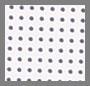 White/Navy Dot