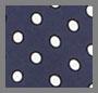 Navy/White Dot