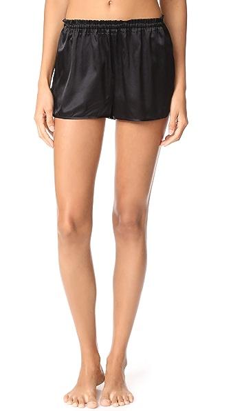 Alessandra Mackenzie Joey Shorts In Black