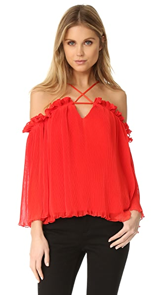 Alice McCall What Do You Mean Top - Red