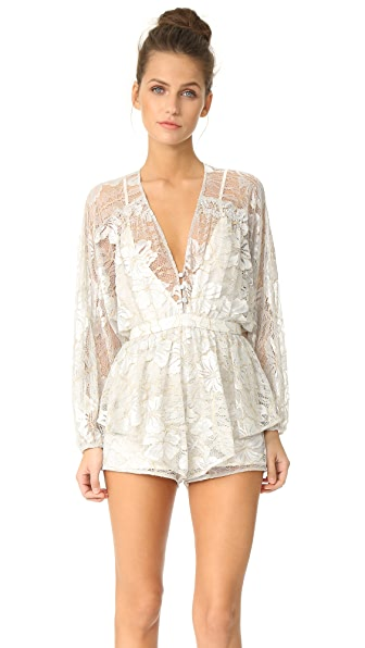 Alice McCall Aquarius Romper - Ice Blue