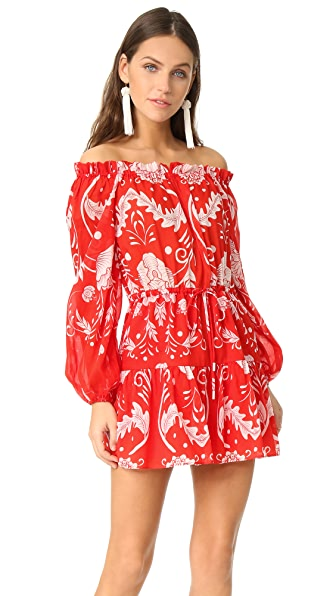 Alice McCall Can't Do Without You Mini Dress In Scarlet Bloom