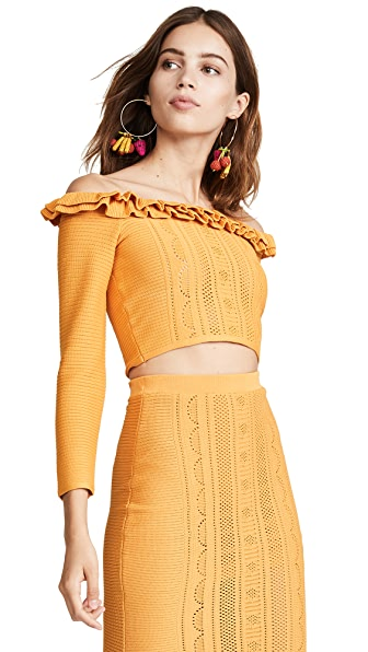 Alice McCall You Belong With Me Top In Turmeric
