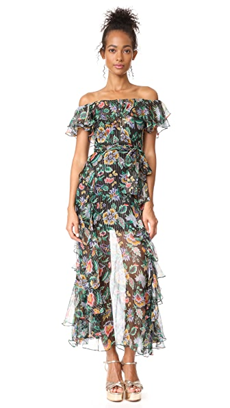 Alice McCall Oh Oh Oh Maxi Dress - Night Garden-1
