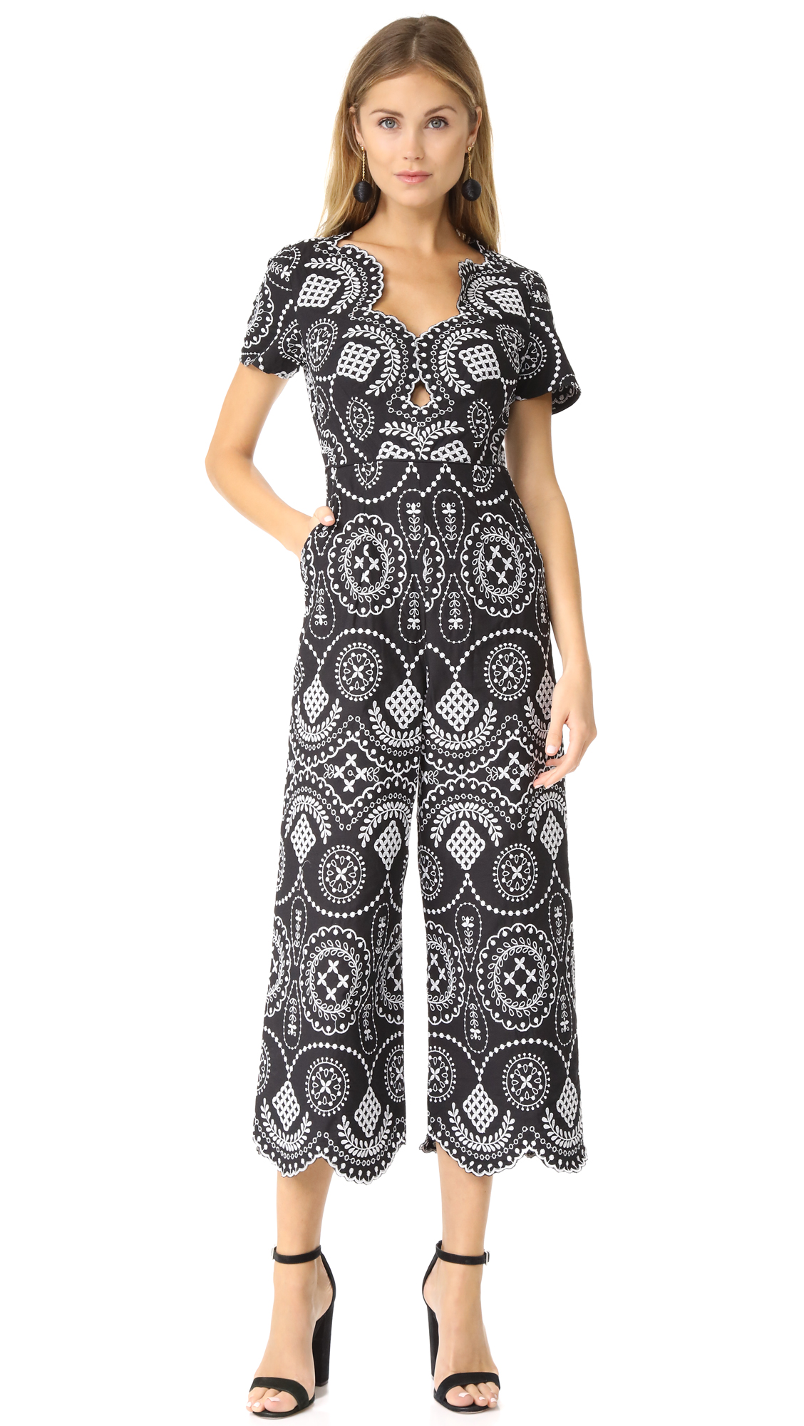 Alice McCall Crave You Jumpsuit - Black