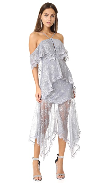 Alice McCall One Way Or Another Dress In Silver Fox