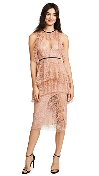 Alice McCall Ocean Drive Dress In Amber