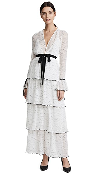 Alice McCall Now or Never Dress In Porcelain