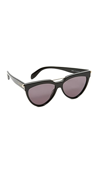 Alexander McQueen Piercing Cat Eye Sunglasses