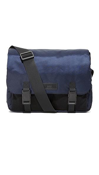 AMI Nylon Messenger Bag