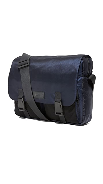AMI Nylon Messenger Bag