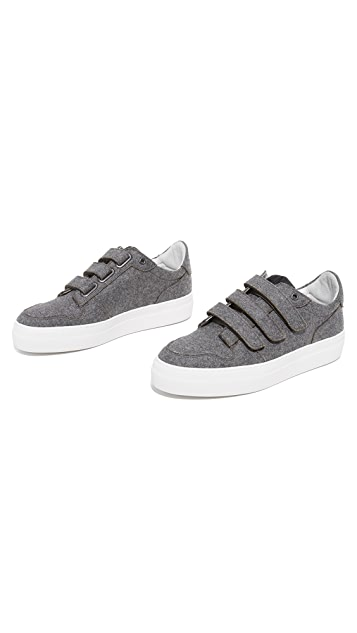 AMI Wool Sneakers