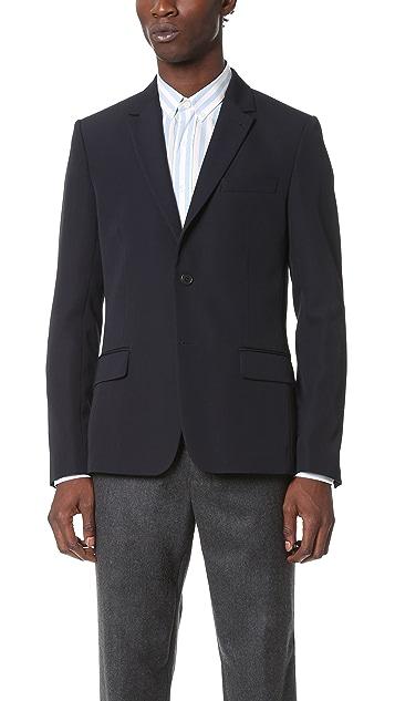 AMI 2 Button Suit Jacket