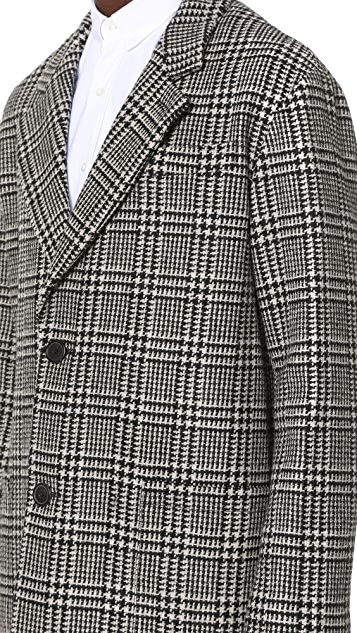 AMI Oversized 2 Button Coat
