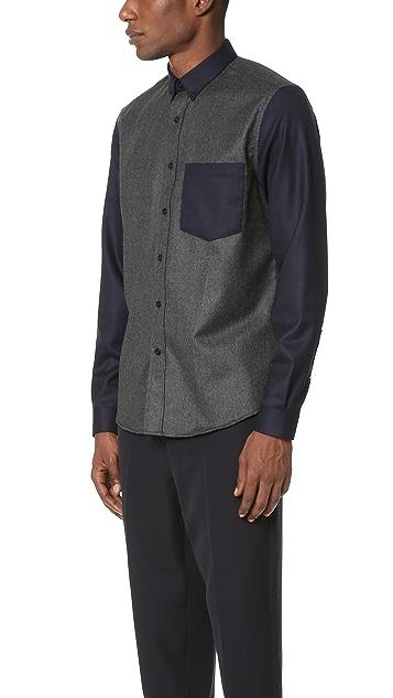 AMI Bimaterial Shirt