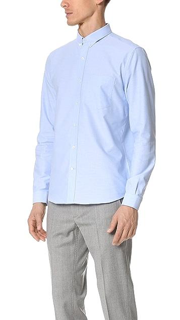 AMI Button Down Oxford Shirt