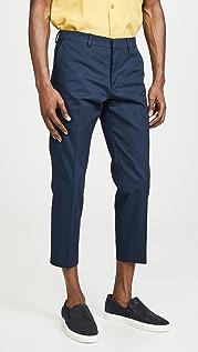 AMI Pantalon Cropped Pants