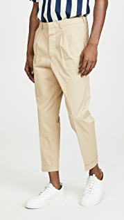 AMI Pantalon Carotte A Plis Pants