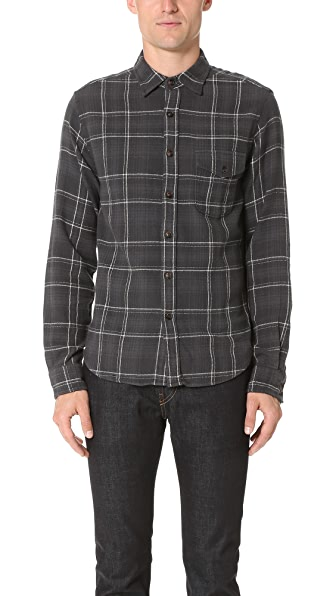 Alex Mill Cabin Plaid Flannel Shirt